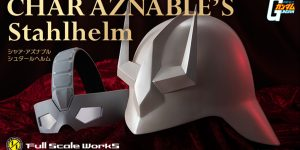 PRE ORDER: Premium Bandai 1/1 Full Scale Char Aznable's Stalhelm (Helmet and Mask)