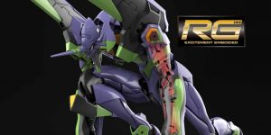 PRE ORDER: Bandai RG General Purpose Humanoid Battle Weapon Evangelion EVA-01