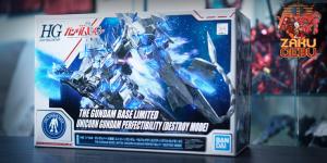 Gundam Base Limited 1/144 HG RX-0 Full Armor Unicorn Gundam Perfectibility [Destroy Mode]