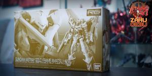 Premium Bandai 1/144 RG Gundam Astray Gold Frame Amatsu Hana