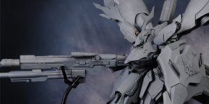 PRE ORDER: Hammer Cat 1/144 RG MSN-04SII Nightingale Full Resin Kit (Original Cast)