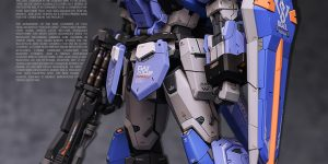 PRE ORDER: TOPLESS 1/100 MG Duel Gundam + Assault Gear Resin Conversion Kit (Original Cast)