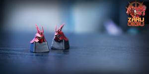 Zaku Cebu x Kraken Artha x Ravenstagg Creative Artisan Keycap – Hornizabi