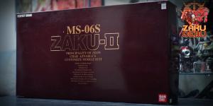 Bandai 1/60 PG MS-06S Char's Zaku II