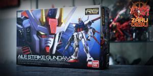 Bandai 1/144 RG Aile Strike Gundam #03