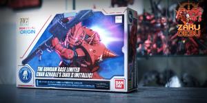 Gundam Base Limited 1/144 HG Char Aznable's Zaku II [Metallic]
