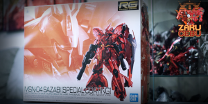 Gundam Base Limited 1/144 RG MSN-04 Sazabi (Special Coating Ver.)