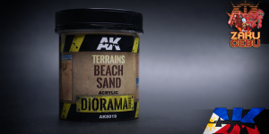 AK Interactive Diorama Series Terrains Beach Sand 250 mL
