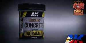 AK Interactive Diorama Series Terrains Concrete 250 mL