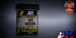 AK Interactive Diorama Series Terrains Dry Ground 250 mL