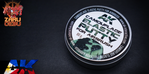 AK Interactive Camouflage Elastic Putty 80g