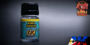 AK Interactive Acrylic Fluid – Worn Effects 35 mL