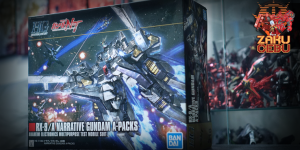 Bandai 1/144 HG RX-9/A Narrative Gundam A Packs