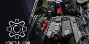 PRE ORDER: AOK Silveroaks 1/100 Zaku II FZ Ver. Industrial Gear Resin Conversion Kit (Original Cast)