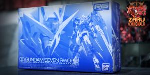 Premium Bandai 1/144 RG GN-0000/7S 00 Gundam Seven Sword
