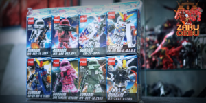 POGO Gundam Block Figures (8 in 1)