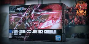 Bandai 1/144 HG SEED ZGMF-X19A Infinite Justice Gundam