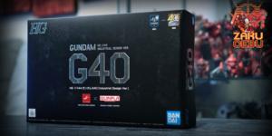 Bandai 1/144 HG RX-78-02 Gundam G40 (Industrial Desin Ver by Ken Okuyama)