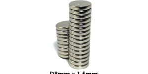 Zaku Cebu Neodymium Magnets (Pair)