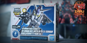 Gundam Base Limited Super Deformed SD CS RX-78-3 G-3 Gundam [Cross Silhouette Frame Ver.]