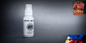 AK Interactive 3rd Generation Acrylic Matte Medium – Auxiliary – 17 mL