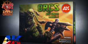 AK Interactive 3rd Generation Acrylic Box Set – Orcs and Green Creatures