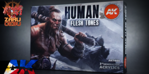 AK Interactive 3rd Generation Acrylic Box Set – Human Flesh Tones