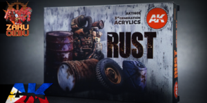 AK Interactive 3rd Generation Acrylic Box Set – Rust and Abandoned