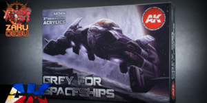 AK Interactive 3rd Generation Acrylic Box Set – Grey for Spaceships