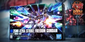 Bandai 1/144 HG ZGMF-X20A Strike Freedom Gundam (Revive) #201