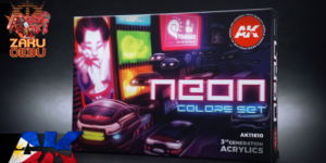 AK Interactive 3rd Generation Acrylic Box Set – Neon Colors