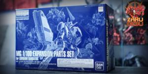Premium Bandai 1/100 Expansion Parts Set for MG Barbatos