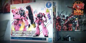 Gundam Base Limited 1/100 MG Zaku Warrior (Live Concert Ver.)