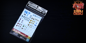 Bandai 1/144 Gundam Decal No. 103 Iron-Blooded Orphans Multi Use 2 Waterslide Decals