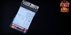 Bandai 1/144 Gundam Decal No. 105 Mobile Suit Gundam The Origin 1 Waterslide Decals