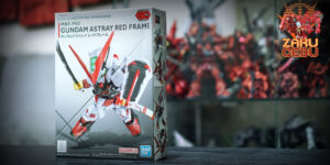 Bandai Super Deformed SD Gundam Ex Standard Gundam Astray Red Frame