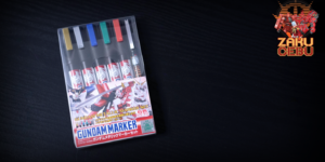 GSI Creos Gundam Metallic Marker Set (6 Markers)